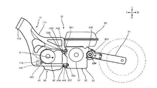 Yamaha Hybrid Drive patent