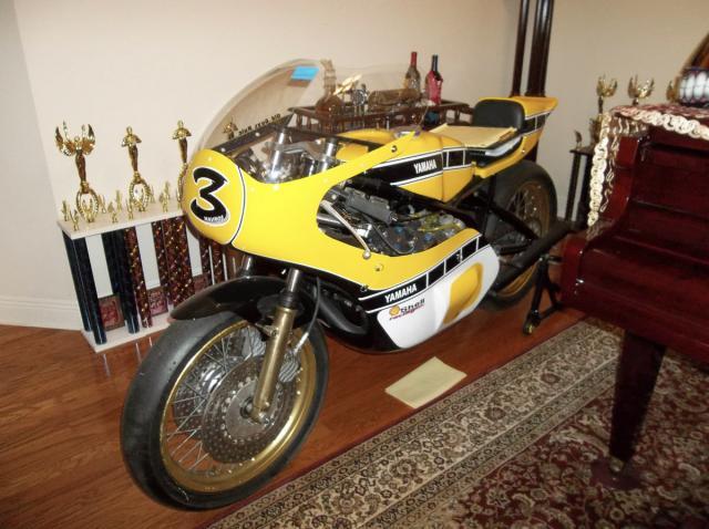Yamaha TZ740D
