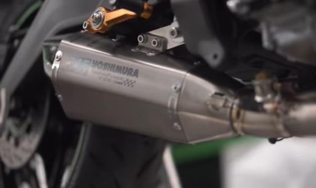 ZX-25R Yoshimuira Exhaust System