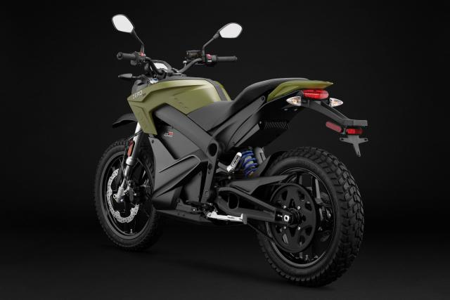 Zero doubles range of learner legal dual-sport electric bike