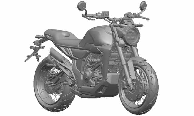 Zontes 350GK motorcycle