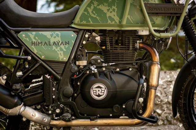 Royal Enfield Himalayan 2021 engine