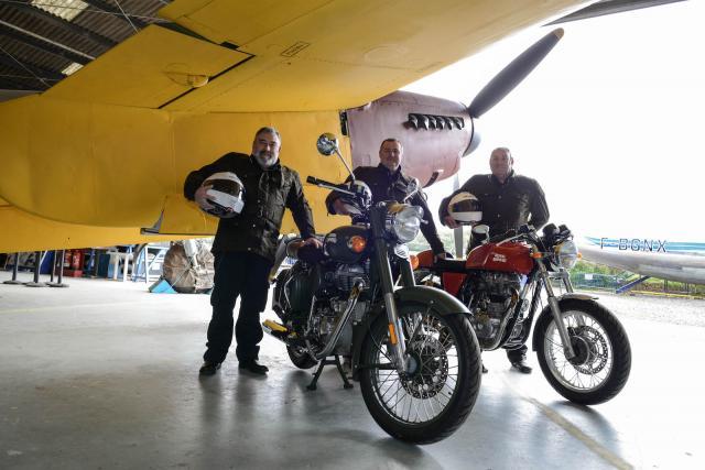 RAF 100 ride