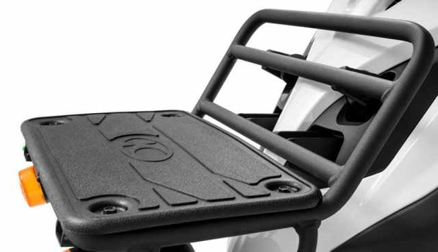 Kymco Agility Carry rack delivery