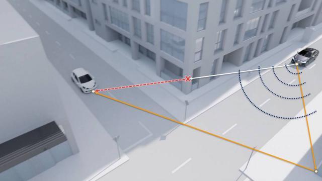 Radar developed to help cars 'see' bikes even around corners!