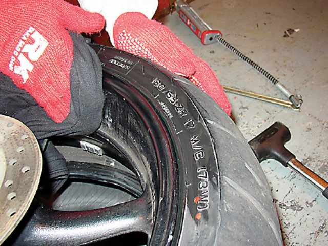 12 steps to fitting new tyres   Visordown
