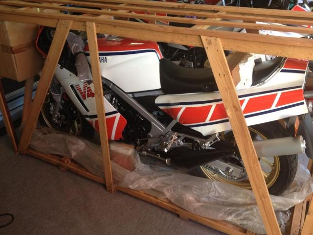 Zero-mile, still crated Yamaha RZ500N for sale   Visordown