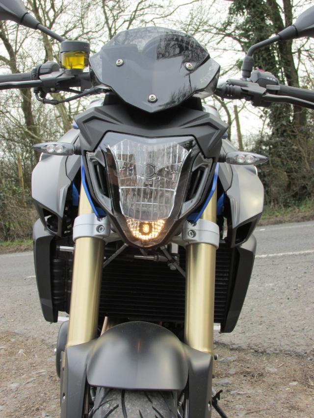 First Uk Road Test Bmw F800r Review Visordown