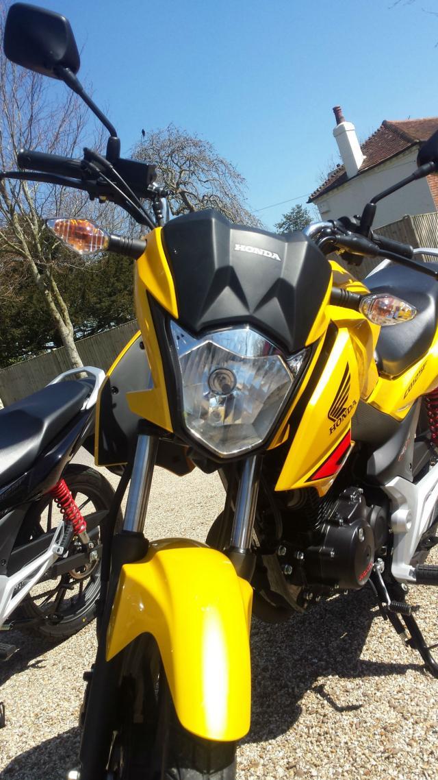 First ride: Honda CB125F review | Visordown