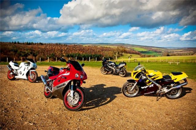 Grey Matters - 400cc test | Visordown