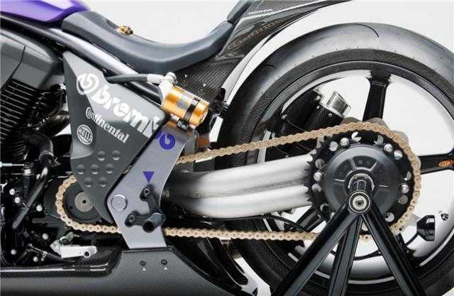 Honda concept: 2010 Sabre 'Switchblade' | Visordown