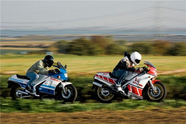 Classic Test: Suzuki RG500 v Yamaha RD500LC | Visordown