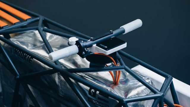 bar frame steering nasa bike
