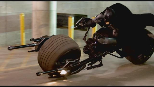Batman batpod batcycle