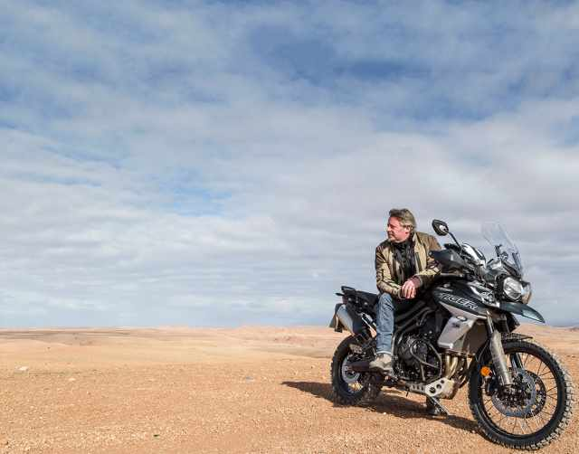 Boorman adventure triumph tiger
