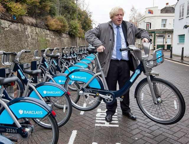boris bikes cyclist cycle