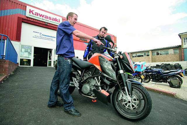 buying a motorcycle