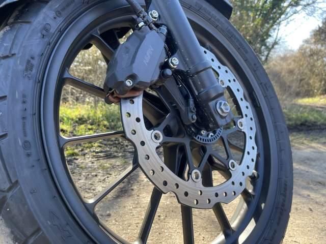 Honda CB500X Nissin Brakes