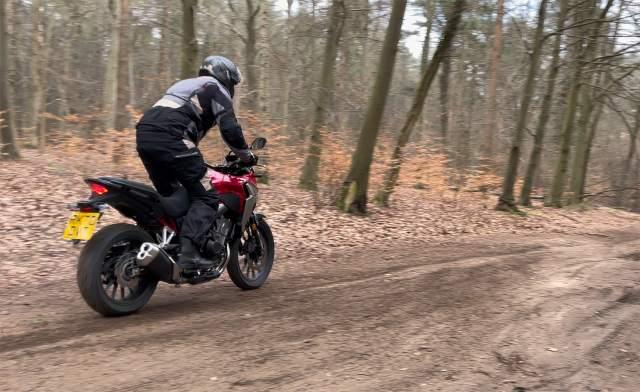 Honda CB500X dirt