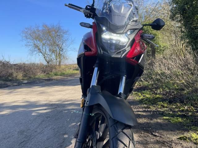 Honda CB500X Front