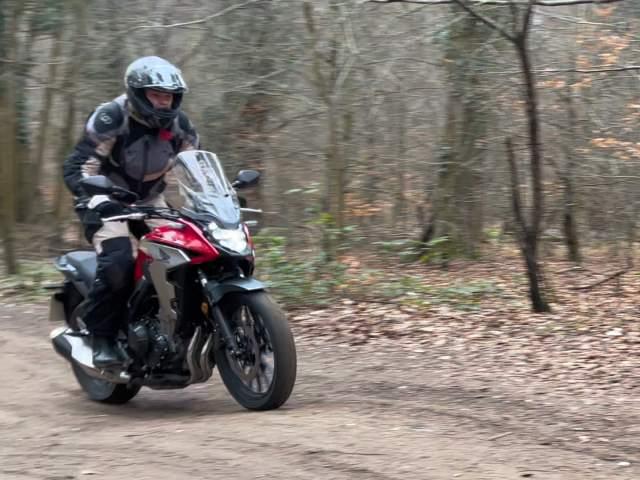 Honda CB500X offroad suspension