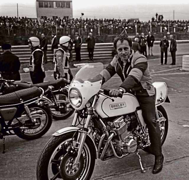 Colin Seeley motorcycling legend