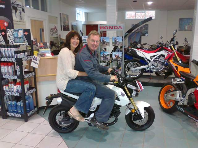 Crewe Honda Roger and Julie Morris