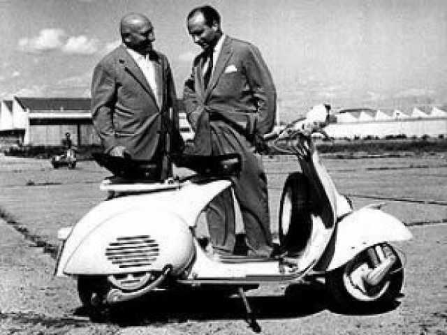 D'Ascanio Corradino and Enrico Piaggio