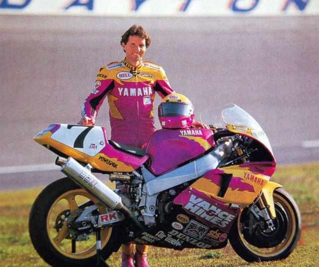 Yamaha Vance & Hines YZF750