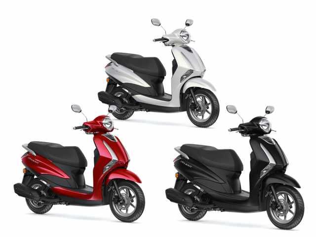 Yamaha D'elight 2021 colours