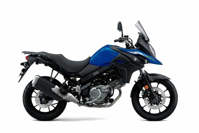 Suzuki V-Strom 650 blue