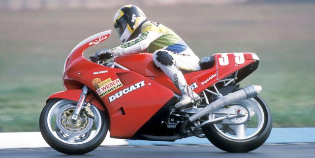 Marco Lucchinelli - 1988, pic: Brembo