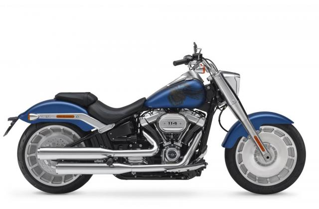 Harley Davidson Fat Boy vers 2 anniversary model