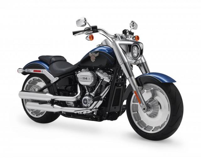 Harley-Davidson Fat Boy anniversary model