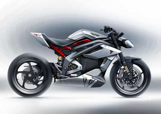 TE-1 electric motorcycle