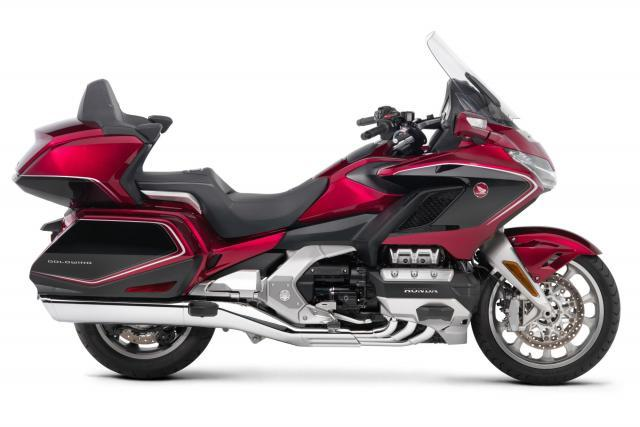 You've never seen a Honda Goldwing ridden like this...