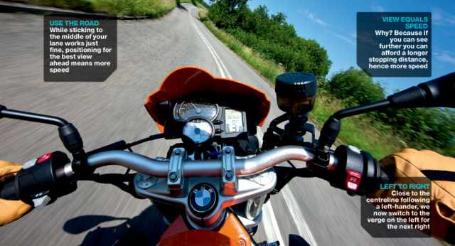 Advanced Motorcycle Riding Course: Cornering - set-up
