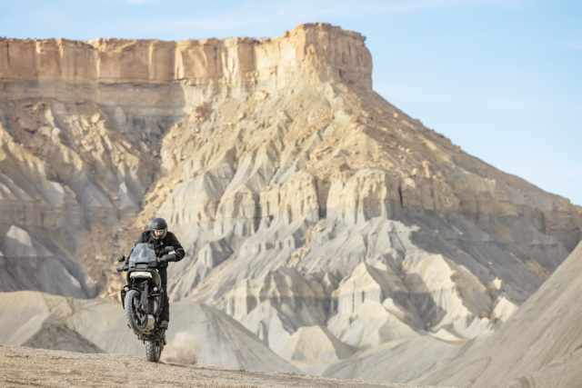 Pan America adventure motorcycle
