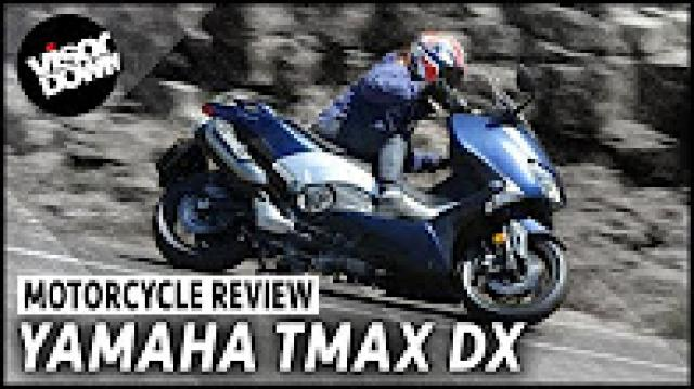 Yamaha TMAX DX video review