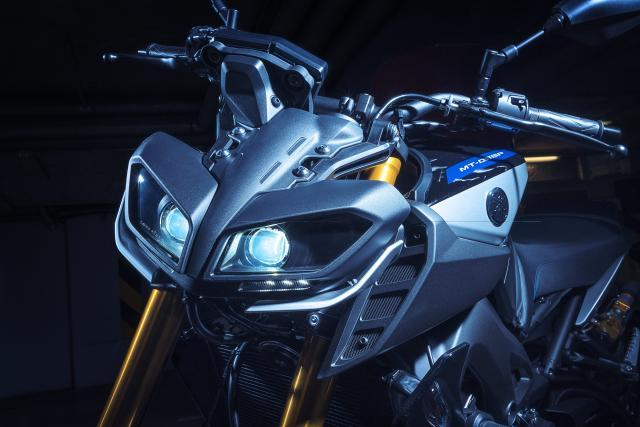 Yamaha MT-09 SP - closer look