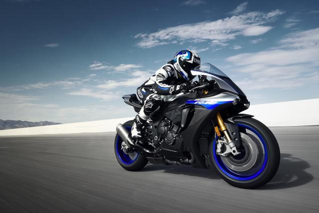 Updates to Yamaha YZF-R1 and YZF-R1M revealed at EICMA