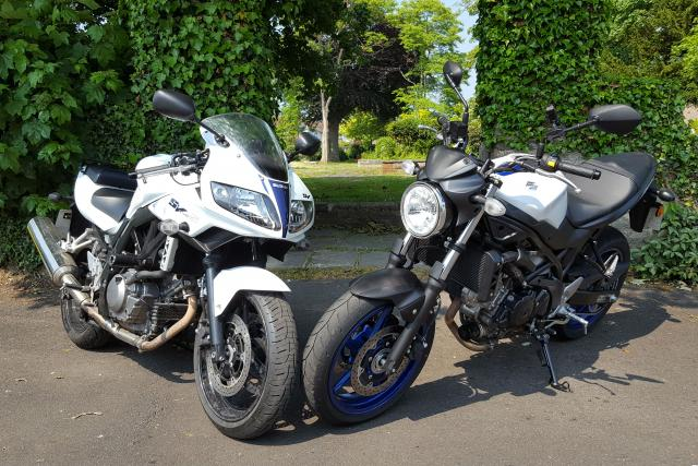 Suzuki SV650S and SV650
