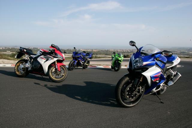 Litre-bike super test - Real world superbikes