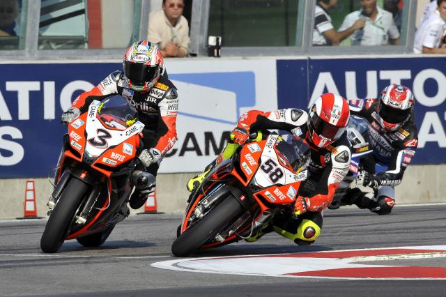 Marco Simoncelli - Aprilia Racing RSV4
