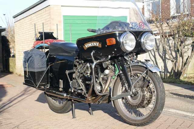 Vincent for Sale. One careful owner and just 721,703 miles