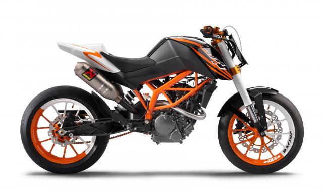 Milan: 2010 KTM 125 streetbike concept