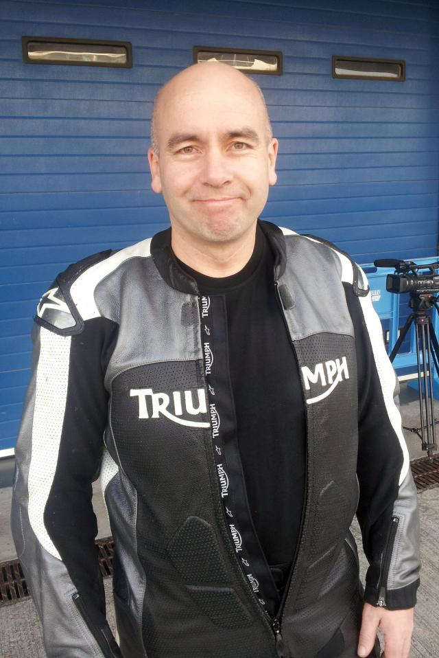 Simon Warburton on the Speed Triple R