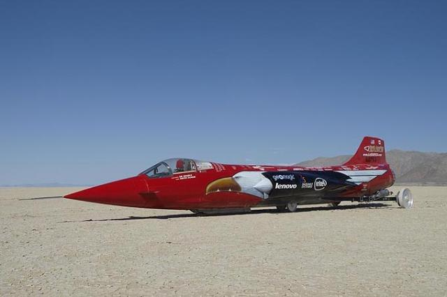 512mph female land speed record attempt