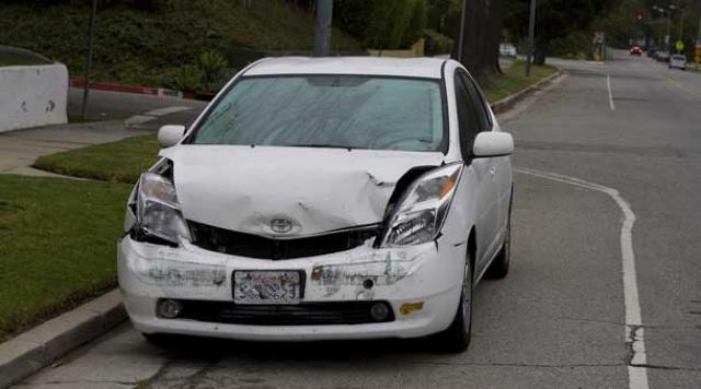 Prius driver knocks off bikers, gets tiny fine