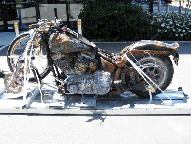 Tsunami Harley heads to H-D museum